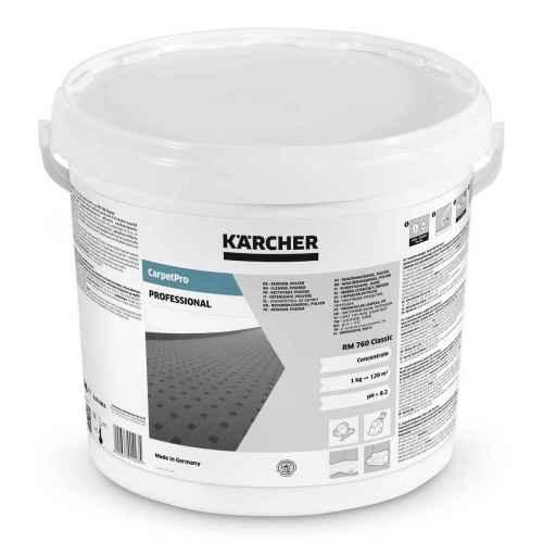 CarpetPro RM 760 Classic Środek czyszczący – proszek, 10 kg, 10 kg Kärcher